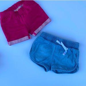 6/$20 🔹Cat & jack baby girl shorts 12 mont…